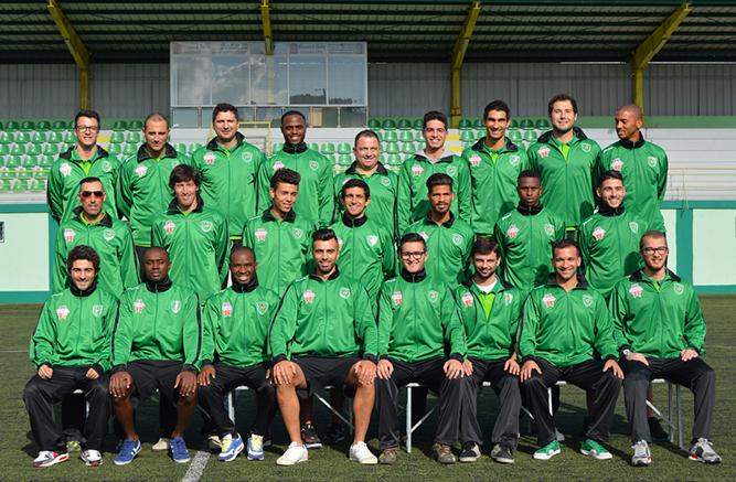 Futebol do Clube Desportivo de Vila Franca do Rosário