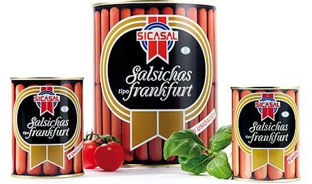 Salsichas Frank Sicasal