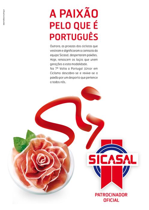 Sicasal na 7ª Volta a Portugal Júnior em Ciclismo